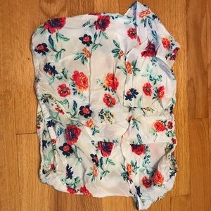 Tops - Floral tube top